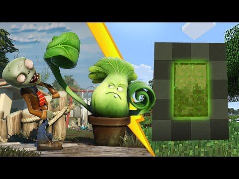 Video como hacer un portal a la dimensi n de plants vs for Como hacer la casa de plantas vs zombies en minecraft