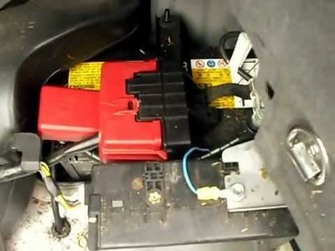 Prius 12v back up starting system - how its done