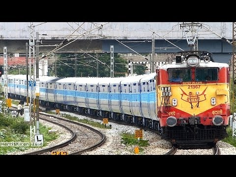 GLOSSY New Coaches : BANGALORE SEALDAH EXPRESS Indian Railways
