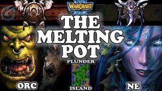 Grubby | Warcraft 3 TFT | 1.29 | ORC v NE on Plunder Isle - The Melting Pot