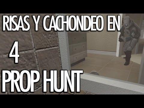 PROP HUNT 4: Risas y Cachondeo! BENDITO PAPEL!! - [LuzuGames]