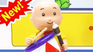 MUSICAL INSTRUMENT   Funny Animated cartoons Kids   Caillou Stop Motion   cartoon movie