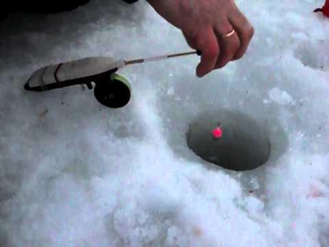 Электромеханическая зимняя удочка своими руками видео