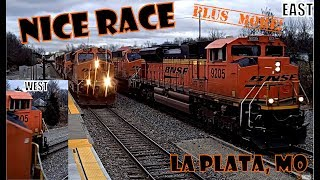 GREAT TRAIN RACE AT LA PLATA, MO  AND MORE!
