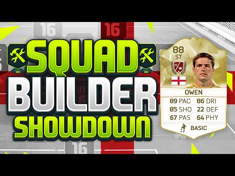 FIFA 16 SQUAD BUILDER SHOWDOWN!!! LEGEND MICHAEL OWEN!!! 88 Rated England Legend Owen