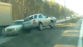 Fail Compilation of Driving in Russia April 2015 #3