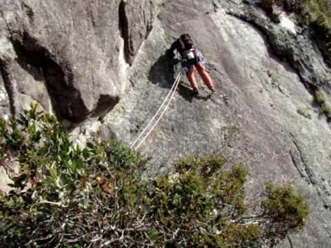 Climbing in Salinas - Three Peaks