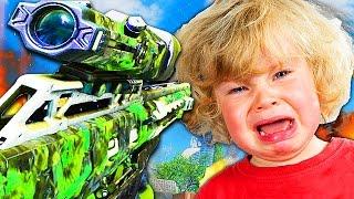 BIGGEST CRY BABY EVER Destroyed in Black Ops 3 1v1! (Black ops 3 Trolling)