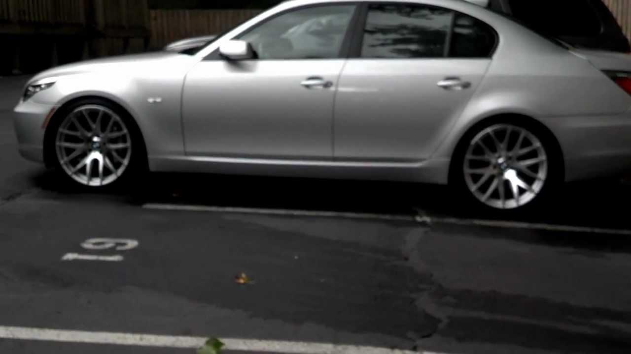 BMW E60 535I Sport Suspension With Miro 111 20 And Cobb