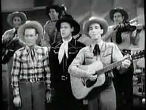 """Sons of the Pioneers """"Tumbling Tumble Weeds"""""""