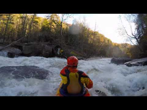 New Zen- EJ and Clay Whitewater Run on Caney Fork River