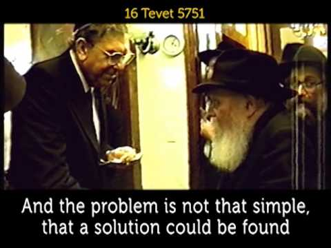 "#236:  ""Rebbe, why don't you visit Israel?"" - Daily Rebbe Video"