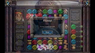 Let's Play: Puzzle Quest: Challenge of the Warlords - Death Gaze Spell - SUCCESS! - 2019-05-12