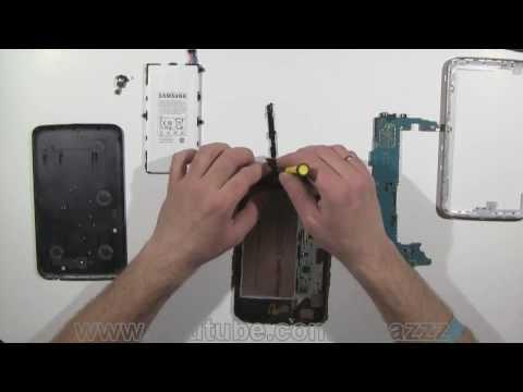 Samsung Galaxy Tab 3 Take Apart. Disassemble and ReAssemble Video (HD)
