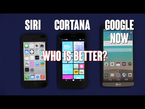 Siri vs. Cortana vs. Google Now - Who Is Better?