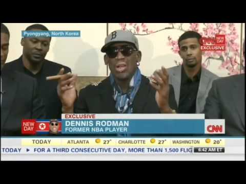 Dennis Rodman Loses It on CNN When Asked About Kenneth Bae