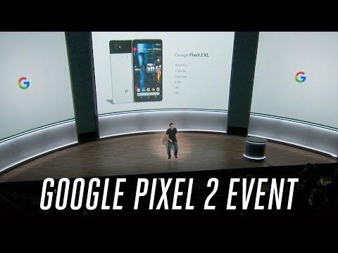 Google Pixel 2 event in 19 minutes