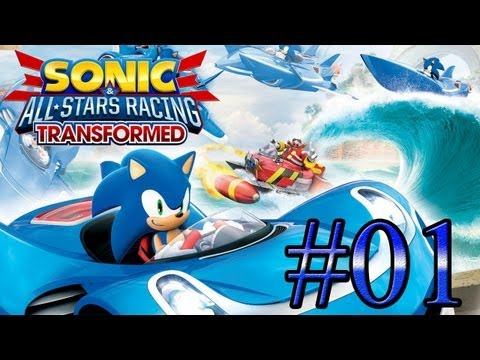 Let's Play : Sonic & All-Stars Racing Transformed - Parte 1
