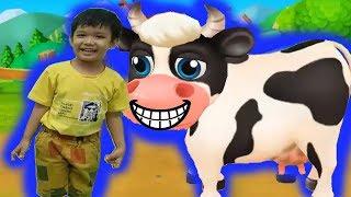 Nông trại của bé tập 7 Nuti trượt té trúng bãi phân bò hoạt hình vui Kênh trẻ em - video cho bé yêu