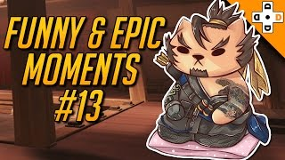 Overwatch Funny & Epic Moments #13 - Highlights Montage