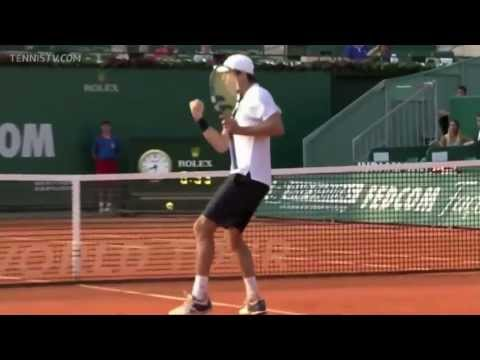 (HD) Monte Carlo 2013 HOTSHOT! Édouard Roger-Vasselin vs Andy Murray