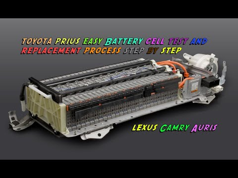 Toyota Prius generation 2  2003-2009 battery repair replacement.MOV
