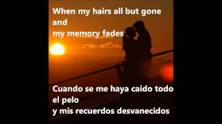 Ed Sheeran Thinking out loud Lyrics Español/Ingles