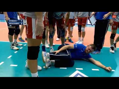 Сидельников получил травму, радуясь победе