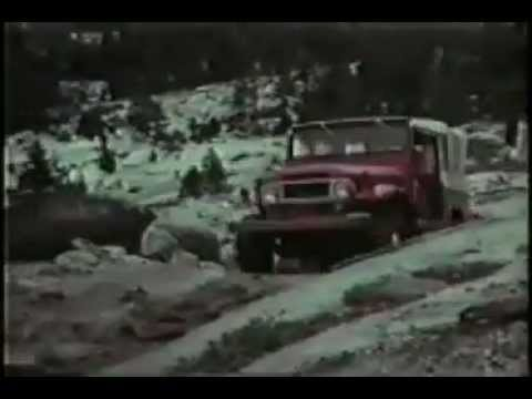 Original Toyota Land Cruiser TV Commercial