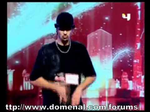 ياسين سعدنا من الجزائر راقص برنامج المواهب العربيه.mpg