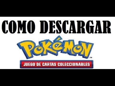 COMO DESCARGAR POKEMON JUEGO DE CARTAS COLECCIONABLES (POKEMON JCC)