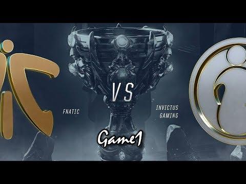 【2018全球總決賽】決賽 FNC vs IG #1