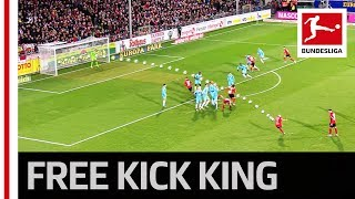 The Bundesliga39s New Free-Kick Hero - All 8 Goals From Jonathan Schmid