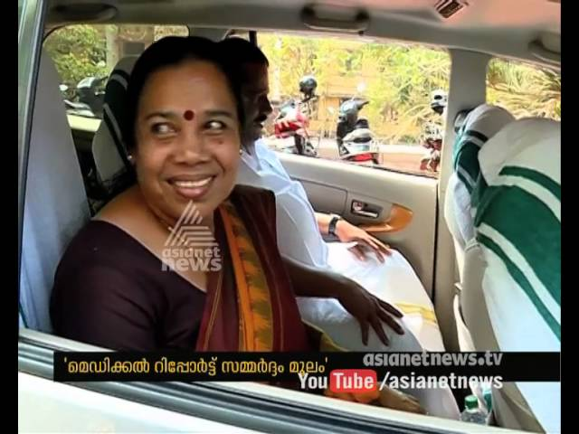 Thomas Isaac, P K Sreemathy and E. P.Jayarajan visits P Jayarajan in Kozhikode Medical College