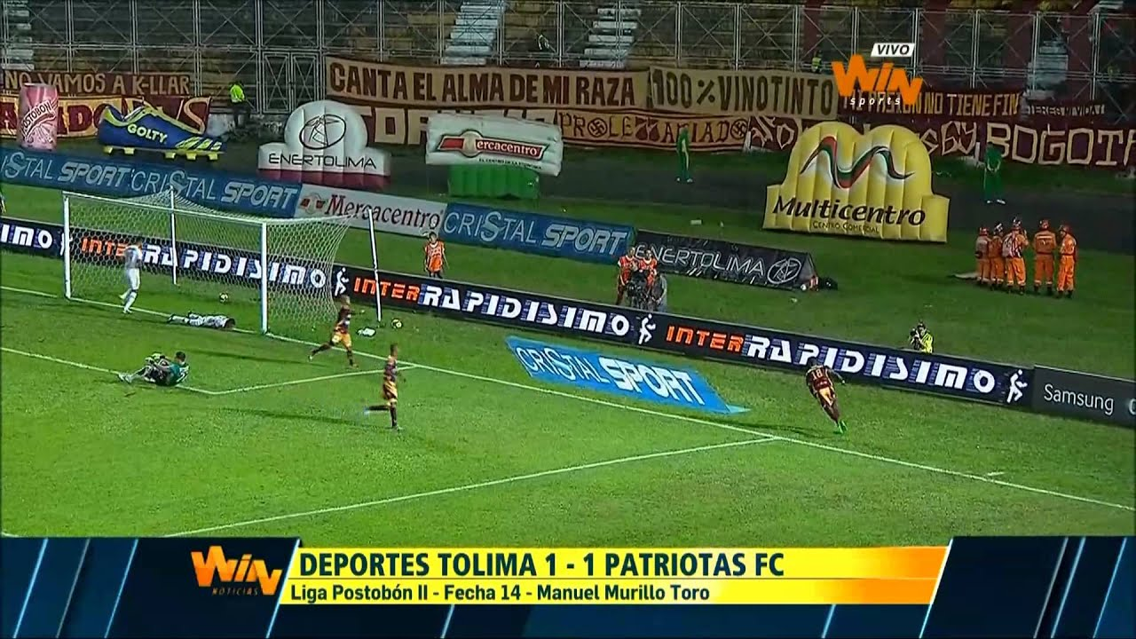 Deportes Tolima 1-1 Patriotas FC