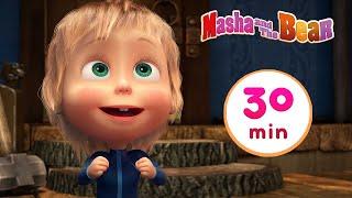 Download lagu Masha and the Bear 🚀🌟 TWINKLE TWINKLE LITTLE STAR 🌟🚀 Best 30 min ⏰ Сartoon collection 🎬