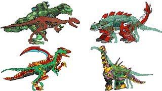 Dino Robot Corps + Dinosaur Train - Full Game Play 1080 HD