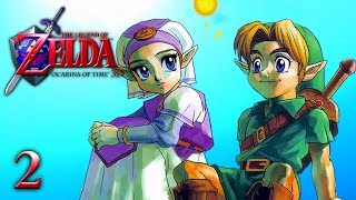 THE PRINCESS AND I - Let's Play - The Legend of Zelda: Ocarina of Time 3D - 2 - Walkthrough