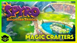 Spyro 1 (Reignited) | Part 13: Magic Crafters Home 100% (All Gems, Dragons & Eggs)