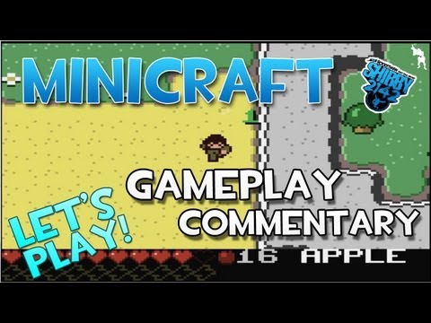 MINICRAFT - Notch's New Game! Free 2D Minecraft - Game Competition Ludum Dare