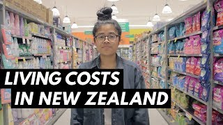 Living Costs in New Zealand