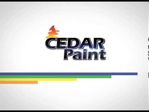 Identikit cedar paint sting