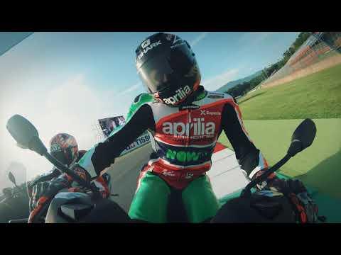 Piaggio MP3 2018 and Aprilia riders