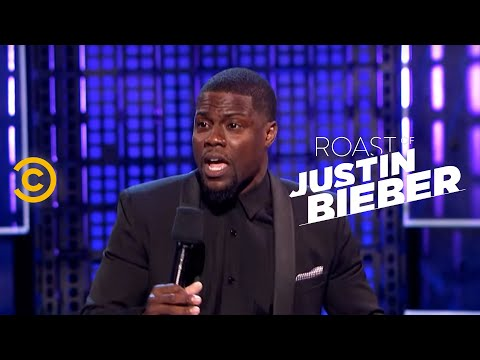 Roast Of Justin Bieber - Kevin Hart - Peeing On Camera - Uncensored video