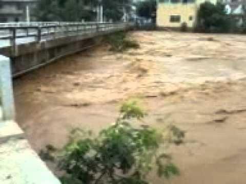 Enchente em Baixo Guandu, Espirito Santo 21/12/2013