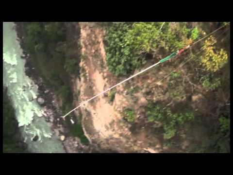 Bungee Jump Before Earth Quake 2072 (2015) Nepal