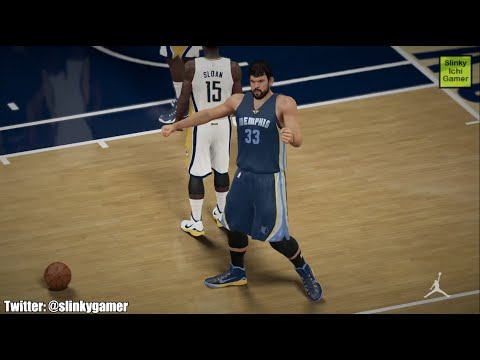 Marc Gasol Highlights - NBA 2K15 Memphis Grizzlies 2014 - 2015