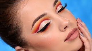 Sunset Cut Crease Makeup Tutorial
