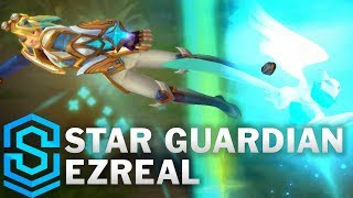 Star Guardian Ezreal (2018) Skin Spotlight - Pre-Release - League of Legends