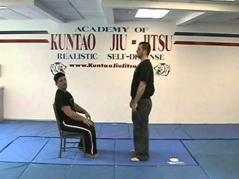 Kuntao Jiu-Jitsu Instructional Training Videos: Chair Defense Image 1